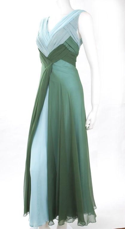 Valentino Boutique Silk Chiffon Gown 7