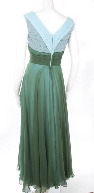 Valentino Boutique Silk Chiffon Gown 8