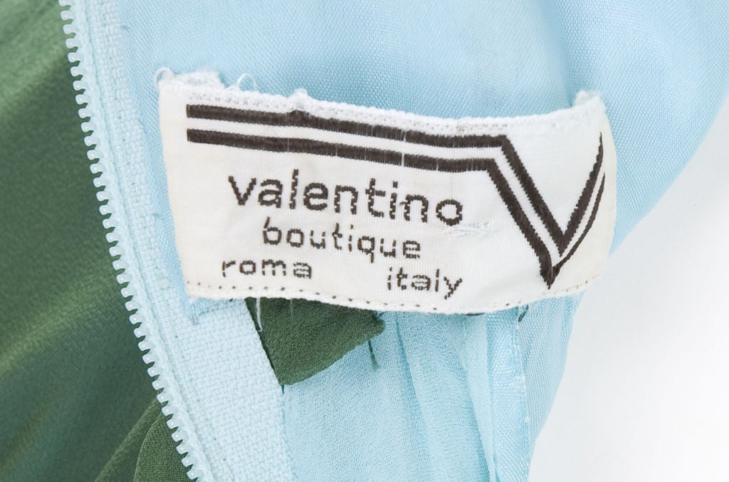 Valentino Boutique Silk Chiffon Gown 9