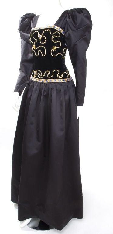 80's Givenchy Nouvelle Boutique Gown 3