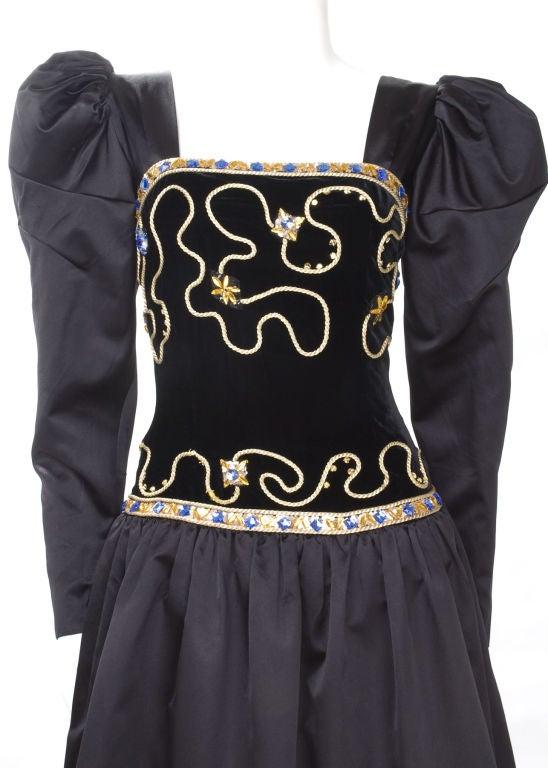 80's Givenchy Nouvelle Boutique Gown 4