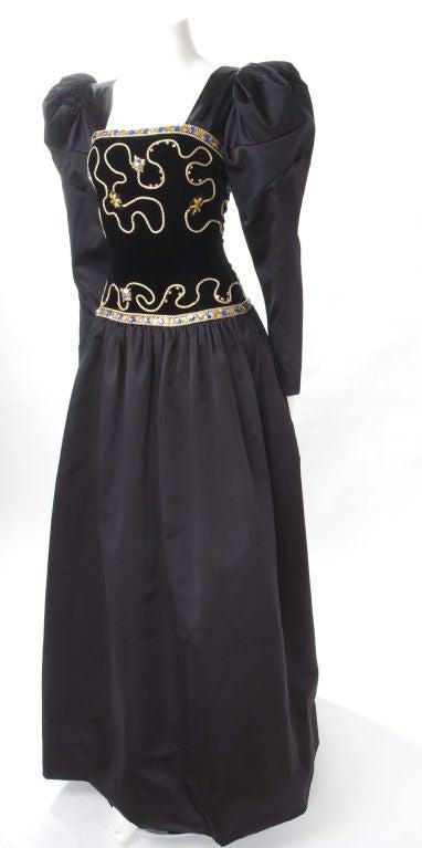 80's Givenchy Nouvelle Boutique Gown 5