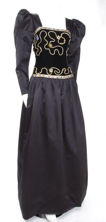 80's Givenchy Nouvelle Boutique Gown 6