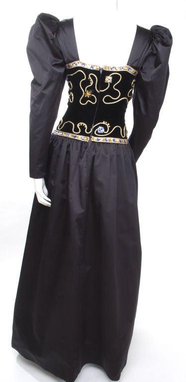80's Givenchy Nouvelle Boutique Gown 8