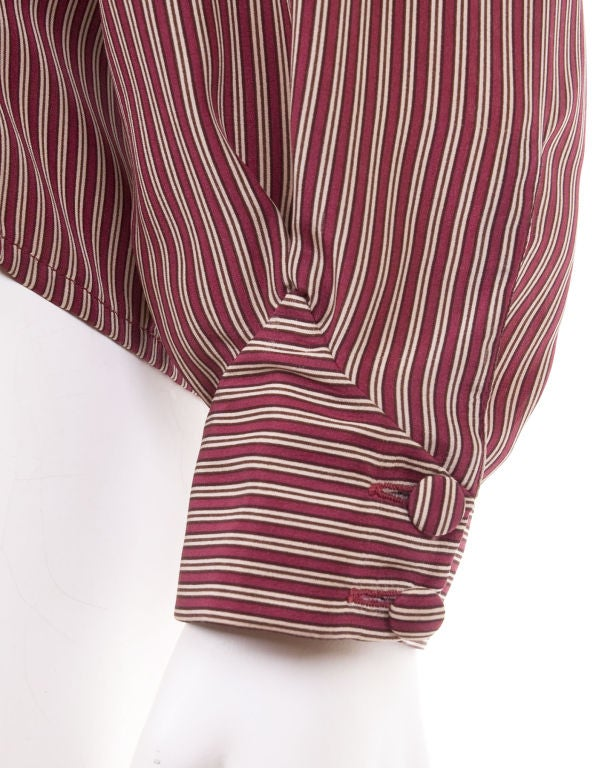 70's Schiaparelli Silk Blouse 4