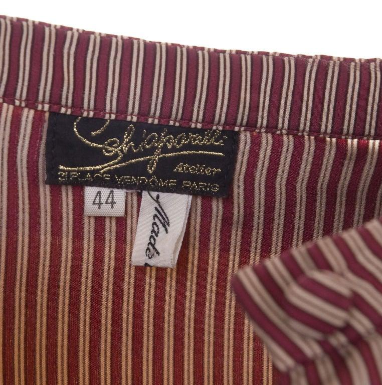 70's Schiaparelli Silk Blouse 5
