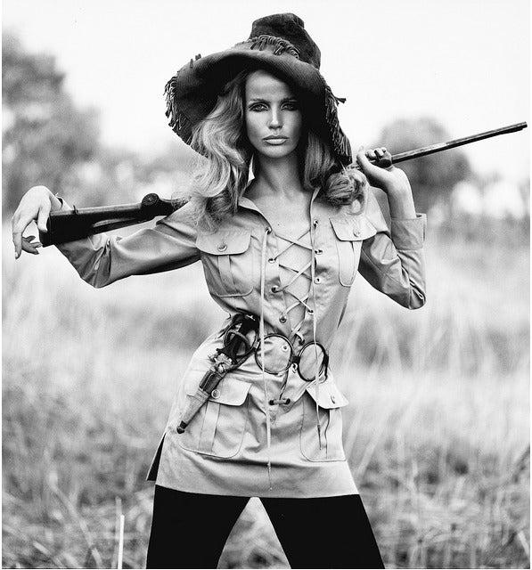 1968 Yves Saint Laurent Safari Tunic 3