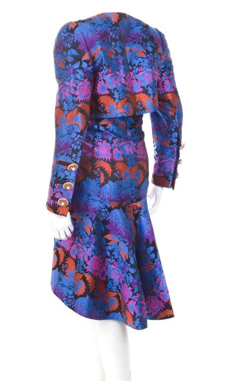 Yves Saint Laurent Haute Couture Bustier Dress and Bolero In Excellent Condition For Sale In Hamburg, DE
