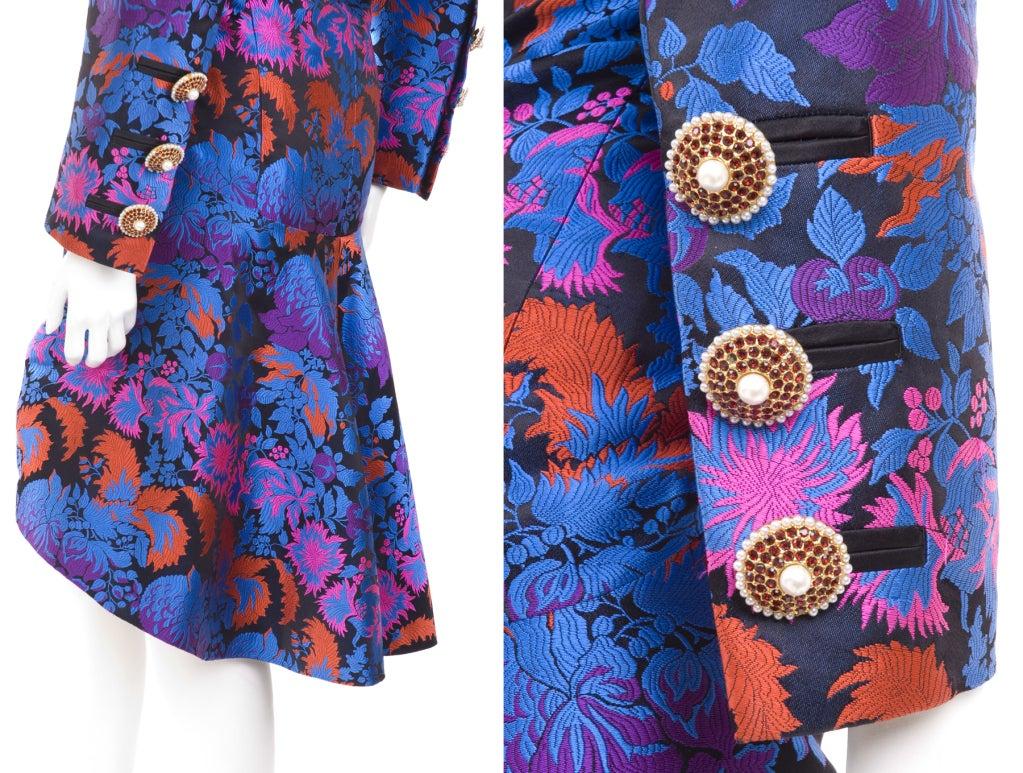 Yves Saint Laurent Haute Couture Bustier Dress and Bolero For Sale 1