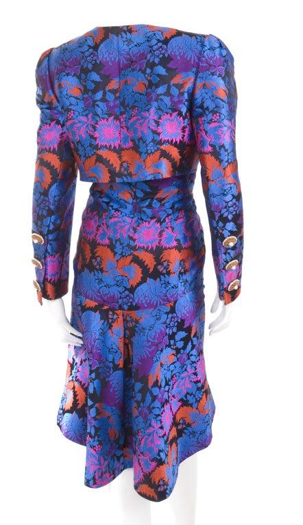 Yves Saint Laurent Haute Couture Bustier Dress and Bolero For Sale 3