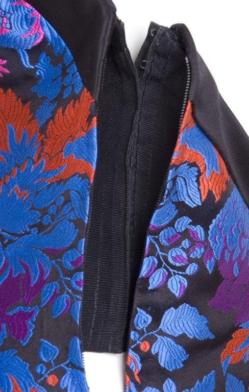 Yves Saint Laurent Haute Couture Bustier Dress and Bolero For Sale 4