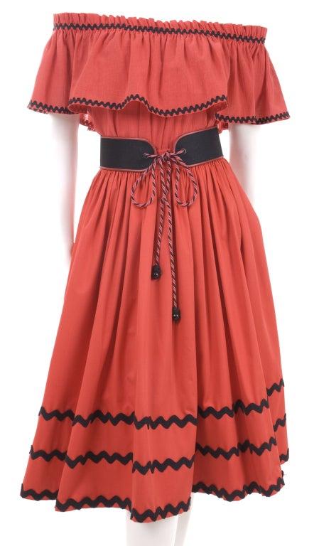 Yves Saint Laurent Gypsy Blouse, Skirt and Belt image 2