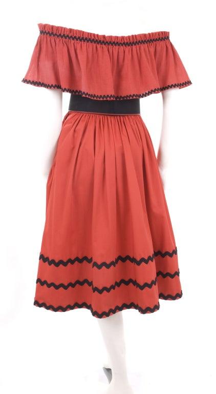 Yves Saint Laurent Gypsy Blouse, Skirt and Belt image 7