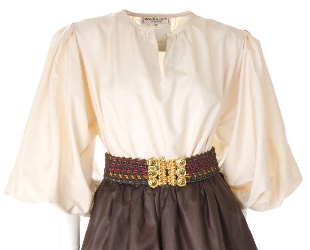 Yves Saint Laurent Skirt, Blouse and Belt 3