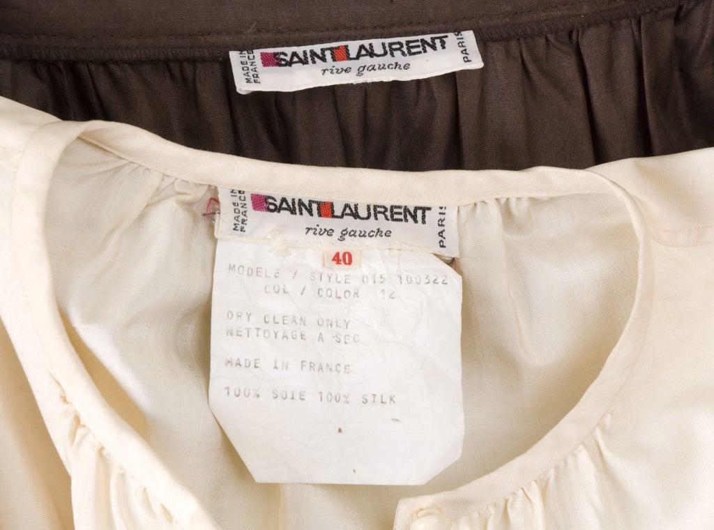 Yves Saint Laurent Skirt, Blouse and Belt 7