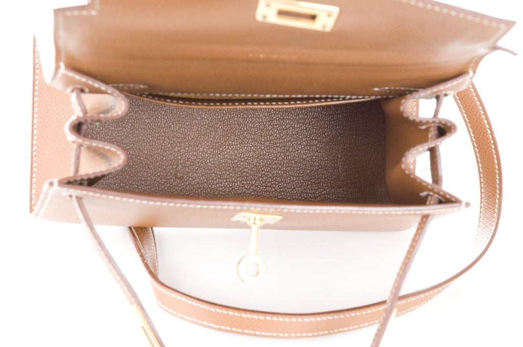 hermes constance price - Hermes MINI Kelly 15 Bag Courchevel Gold at 1stdibs