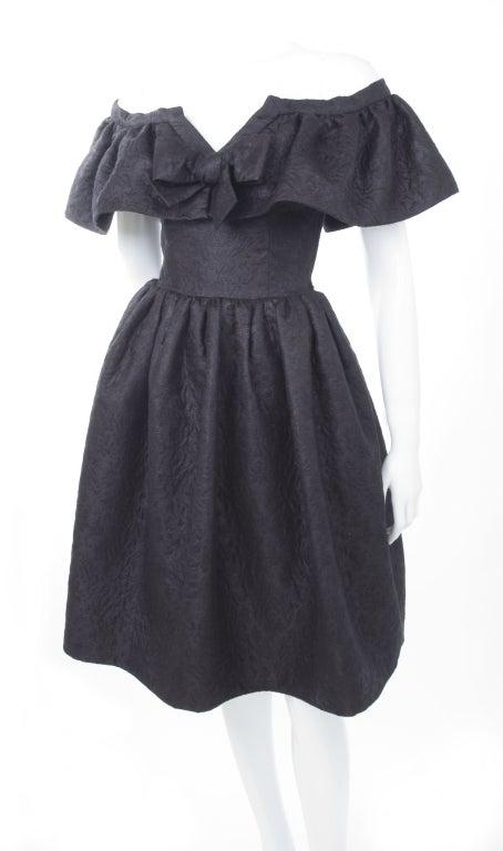 Yves Saint Laurent Cloque Cocktail Dress 2