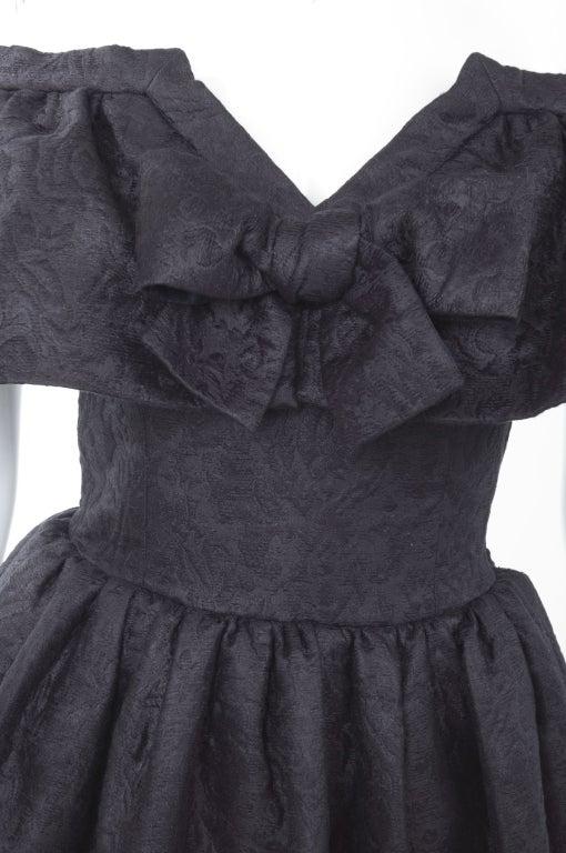 Yves Saint Laurent Cloque Cocktail Dress 3