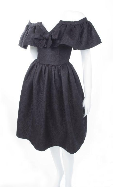 Yves Saint Laurent Cloque Cocktail Dress 6