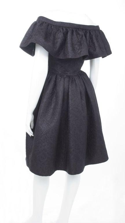 Yves Saint Laurent Cloque Cocktail Dress 7