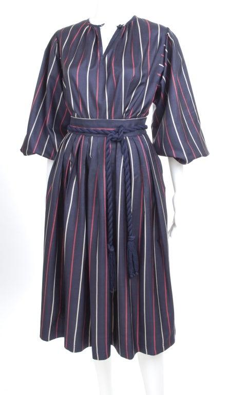 Yves Saint Laurent Silk Skirt and Blouse 2