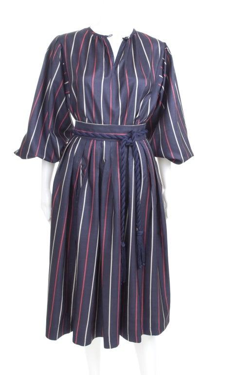 Yves Saint Laurent Silk Skirt and Blouse 3