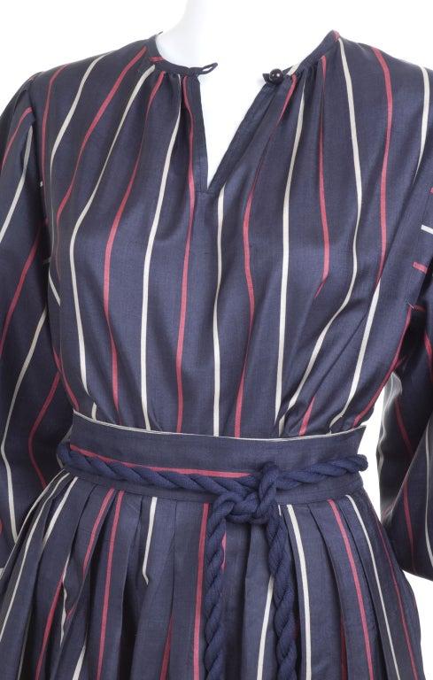 Yves Saint Laurent Silk Skirt and Blouse 4