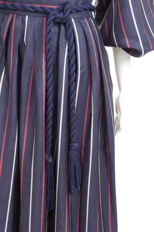 Yves Saint Laurent Silk Skirt and Blouse 5