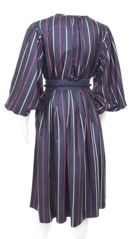 Yves Saint Laurent Silk Skirt and Blouse 6