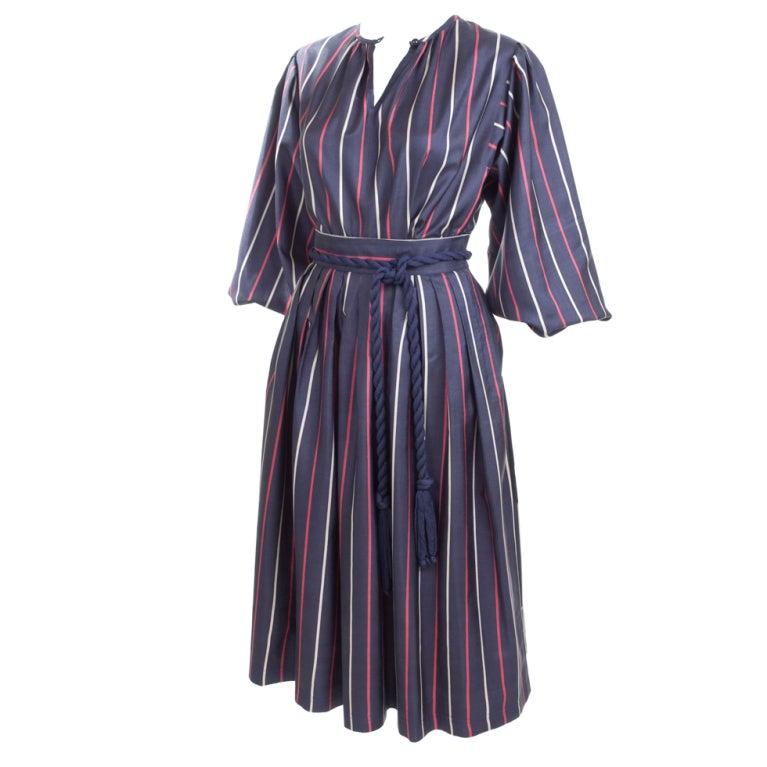 Yves Saint Laurent Silk Skirt and Blouse 1