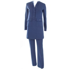 60's Yves Saint Laurent Jersey Suit