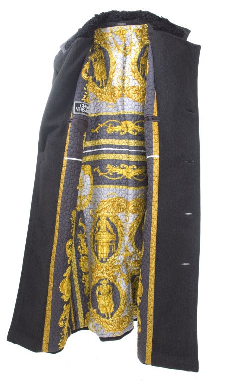 90 u0026 39 s gianni versace couture mens overcoat for sale at 1stdibs
