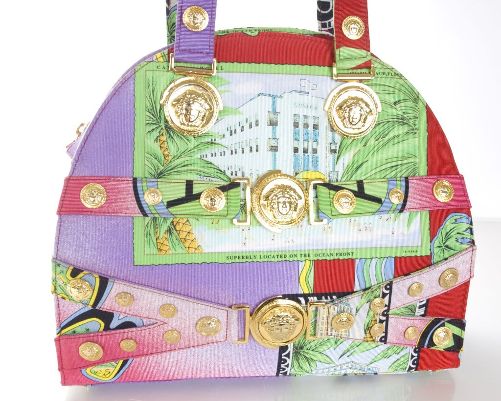 Gianni Versace Large Miami Purse 3