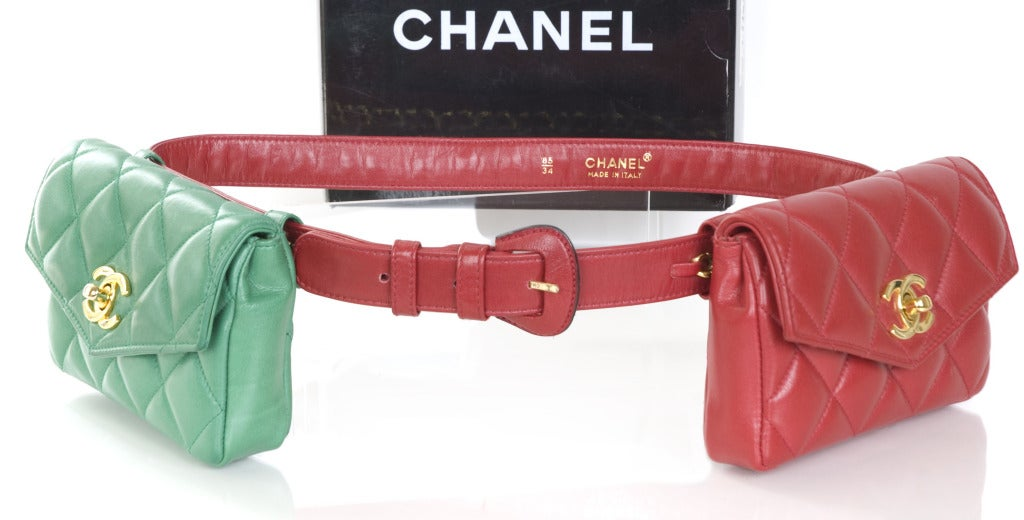 Chanel Belt with 2 Bags 2