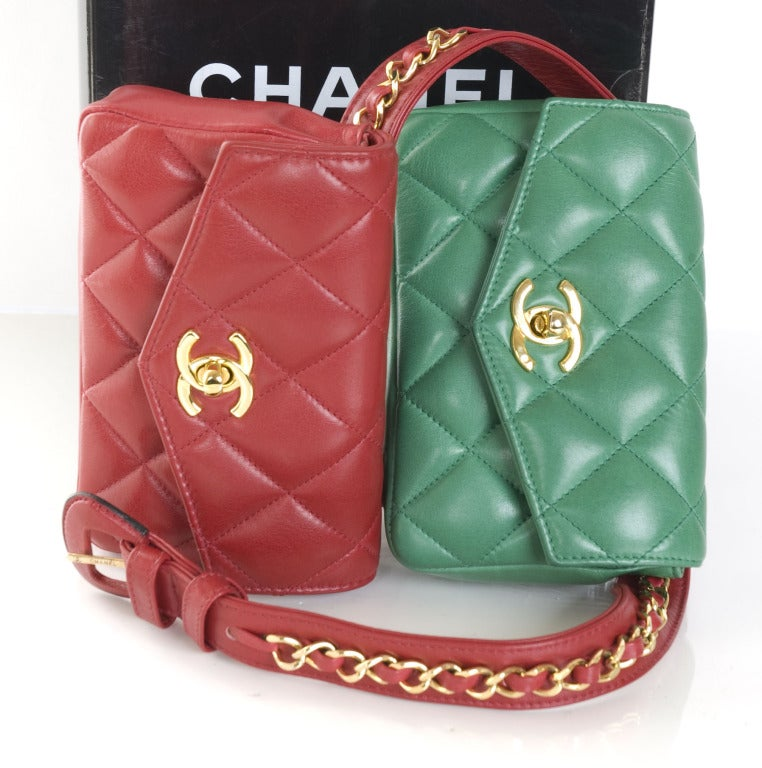 Chanel Belt with 2 Bags 6