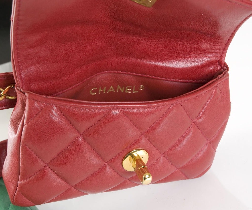 Chanel Belt with 2 Bags 7