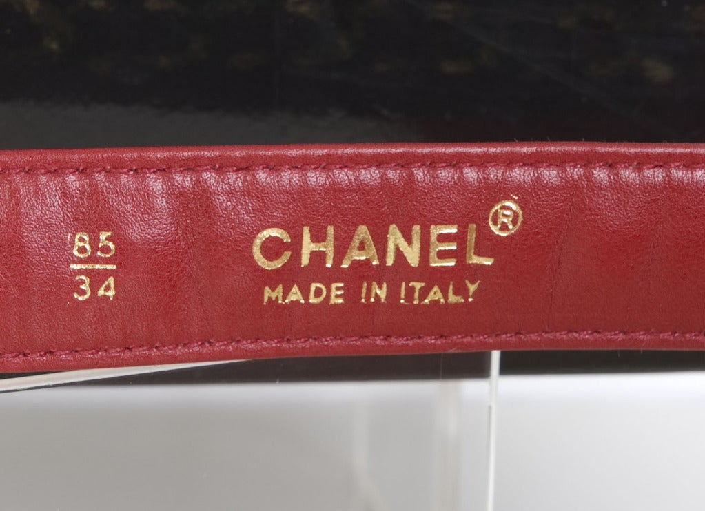 Chanel Belt with 2 Bags 9