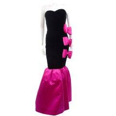 80's Givenchy Nouvelle Boutique Gown