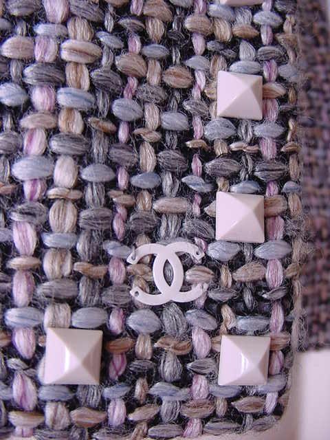 CHANEL O3A Unique Fantasy Tweed Jacket 2