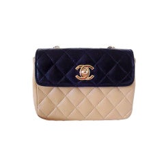 CHANEL Classic Mini Sac Bag NO longer made COLLECTABLE
