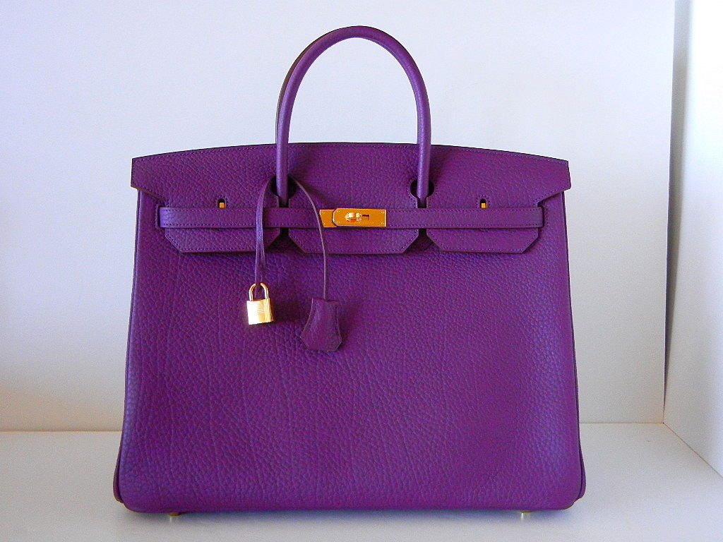 HERMES Birkin 40 Bag CASSIS divine NEW colour 2