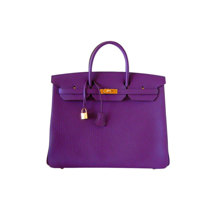 HERMES Birkin 40 Bag CASSIS divine NEW colour 1