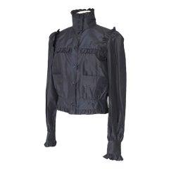 Chanel 07C Jacket Feather Light Silk Faille 42 / 8 Nwt