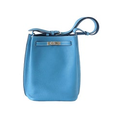 Hermes Bag Divine So Kelly 26 cm Tote Classic Blue Jean