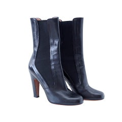 Azzedine Alaia boot 3/4 length ankle 39 / 9