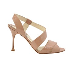 BRIAN ATWOOD Shoe Gorgeous Nude Coloured Patent 39 / 9 NW