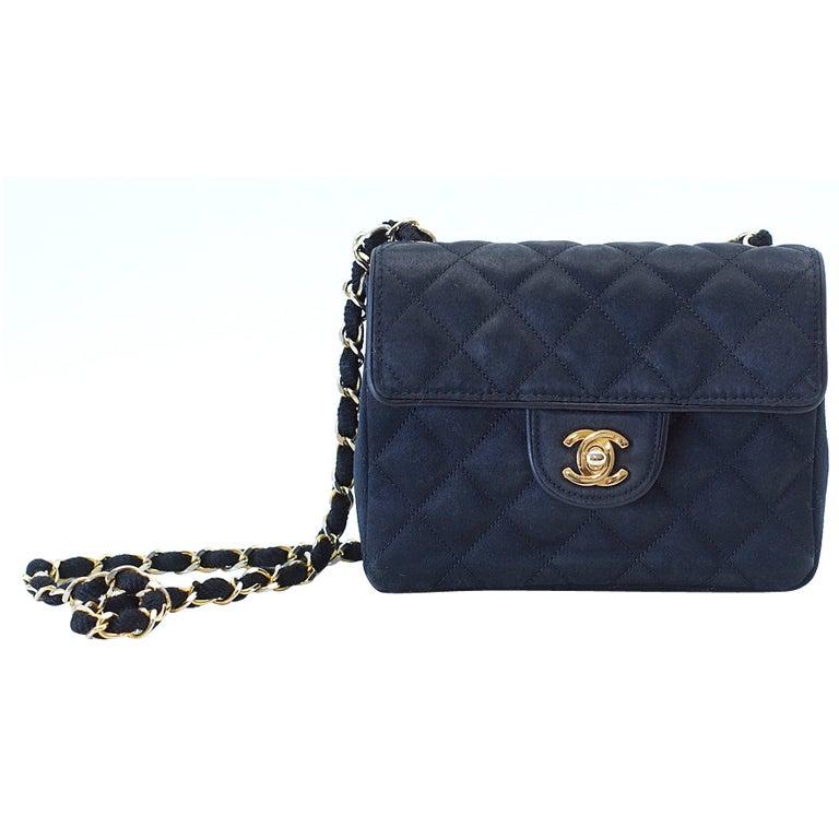 chanel vintage bag. chanel vintage bag mini black satin flap gold hardware 1 chanel