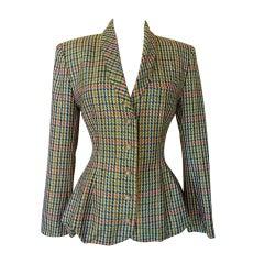 BARBARA BUI Vintage jacket Amazing shape 4/6 super colours