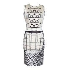 MARY KATRANTZOU dress starbright NEW divine print and fit S