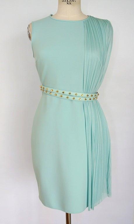 VERSACE dress exquisite details glorious colour NEW 8 2